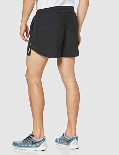 NIKE M NK Chllgr Short 5In BF Pantalones Cortos de Deporte, Hombre, Black/Black/Reflective silv, S