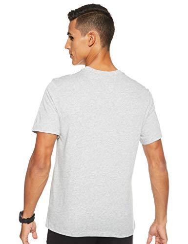 NIKE M NK Dry tee Dfc Crew Solid Camiseta de Manga Corta, Hombre, dk Grey Heather/Black