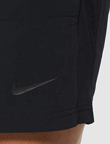 NIKE M NK FLX Short Yoga Pantalones Cortos de Deporte, Hombre, Black/Black/Iron Grey, XL