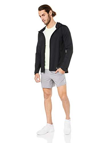 NIKE M Nk FLX Stride Short 5in BF Pantalones Cortos de Deporte, Hombre, Gunsmoke/htr/(Reflective silv), S