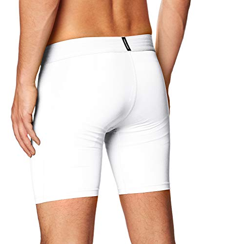 NIKE M NP Short Pantalones Cortos de Deporte, Hombre, White/Black
