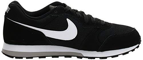 Nike MD Runner 2 GS 807316-001, Zapatillas de Running para Hombre, Negro (Black/Wolf Grey/White), 38.5 EU