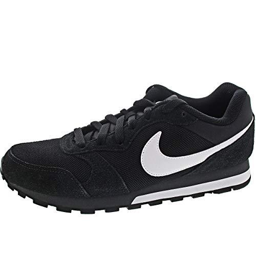 Nike MD Runner 2, Zapatillas para Hombre, Black/White Anthracite, 45.5 EU