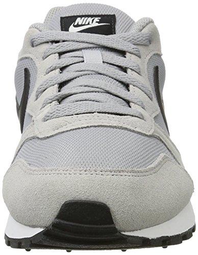 Nike MD Runner 2, Zapatillas para Hombre, Wolf Grey/Black/White, 41 EU