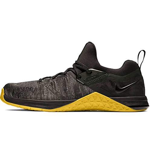 Nike Metcon Flyknit 3, Zapatillas de Deporte para Hombre, Multicolor (Sequoia/Bright Citron 000), 42 EU