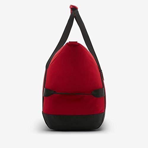 NIKE Nk Acdmy Team M Duff Gym Duffel Bag, Unisex adulto, University Red/Black/(White), MISC