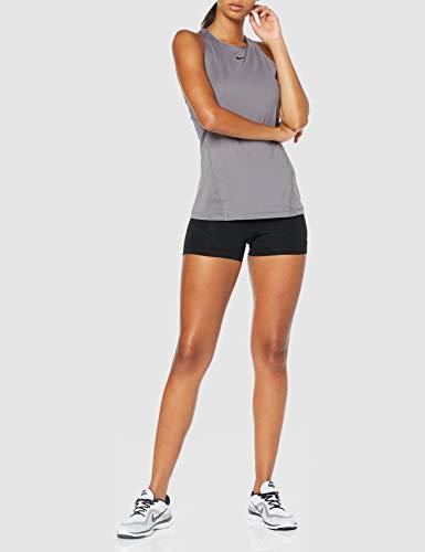 Nike NP Short Pantalones Cortos, Mujer, Negro (Black/Black/White), S