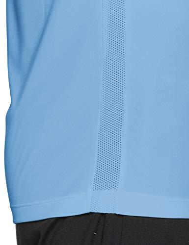 Nike Park VI Camiseta de Manga Corta para hombre, Azul (University Blue/White), M