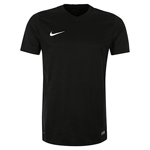 Nike Park VI Camiseta de Manga Corta para hombre, Negro (Black/White), M