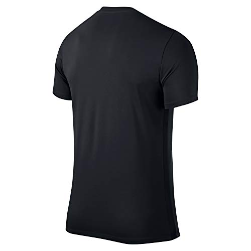 Nike Park VI Camiseta de Manga Corta para hombre, Negro (Black/White), XL