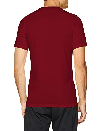 Nike Park VI Camiseta de Manga Corta para hombre, Rojo (Team Rojo/Blanco), M