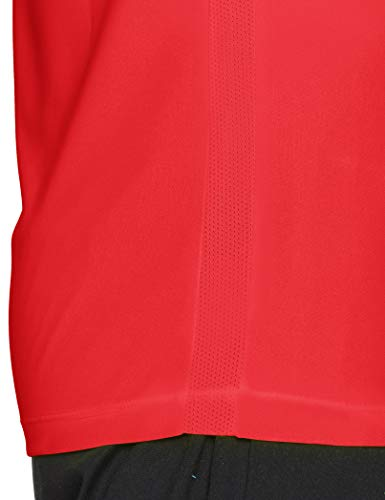 Nike Park VI Camiseta de Manga Corta para hombre, Rojo (University Red/White), M