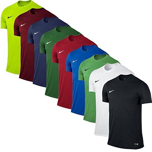 Nike Park VI Camiseta de Manga Corta para hombre, Verde (Hyper Verde/Black), L