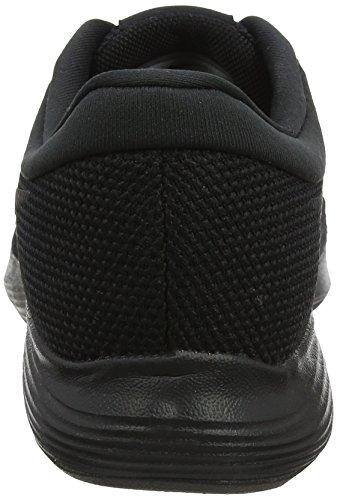 Nike Revolution 4 EU, Zapatillas de Running para Hombre, Negro (Black/Black 002), 42.5 EU