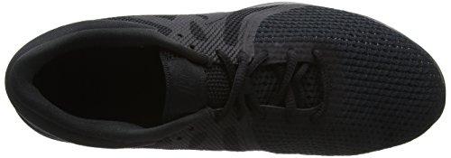 Nike Revolution 4 EU, Zapatillas de Running para Hombre, Negro (Black/Black 002), 43 EU