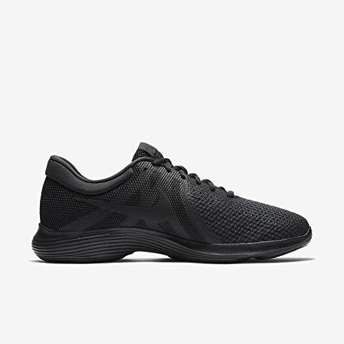 Nike Revolution 4 EU, Zapatillas de Running para Hombre, Negro (Black/Black 002), 44 EU