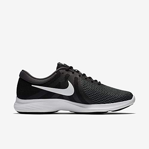 Nike Revolution 4 EU, Zapatillas de Running para Hombre, Negro (Black/White-Anthracite 001), 42 EU