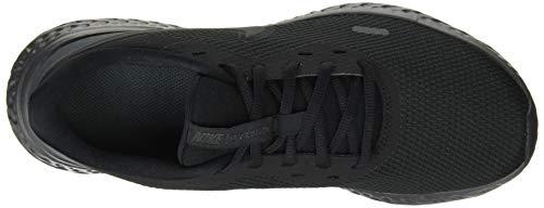 Nike Revolution 5, Zapatillas de Atletismo para Hombre, Multicolor (Black Anthracite 001), 45.5 EU