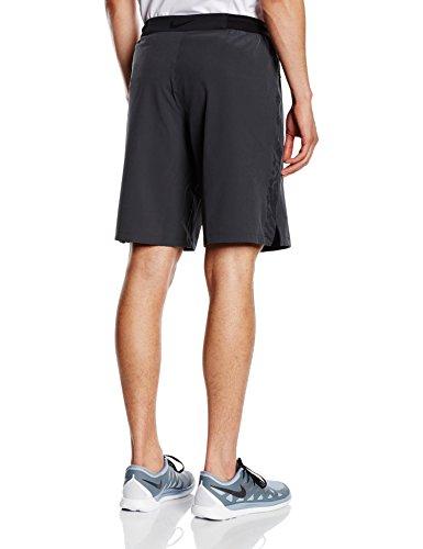 NIKE Select Strike Woven Shorts 2, Todo el año, Hombre, Color Gris y Negro, tamaño Extra-Large