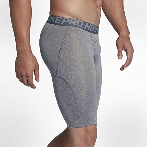 NIKE Shorts Pro Cool Pantalón Corto, Hombre, Gris - Gris, S