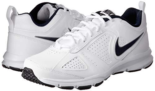Nike T-Lite 11, Zapatillas de Cross Training para Hombre, Blanco (White/Black/Obsidian), 40 EU