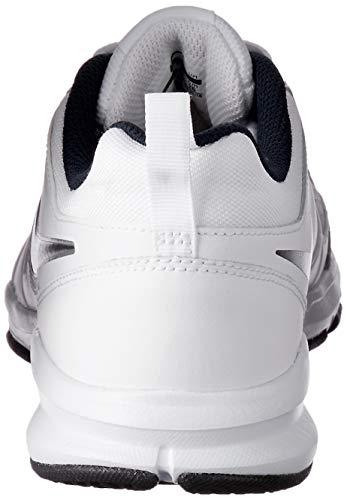 Nike T-Lite 11, Zapatillas de Cross Training para Hombre, Blanco (White/Black/Obsidian), 42 EU