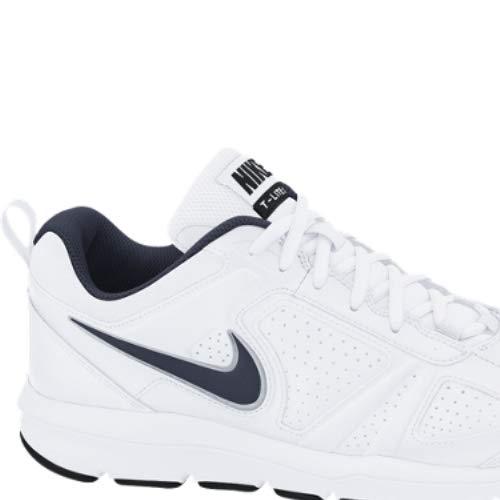 Nike T-Lite 11, Zapatillas de Cross Training para Hombre, Blanco (White/Black/Obsidian), 47 EU