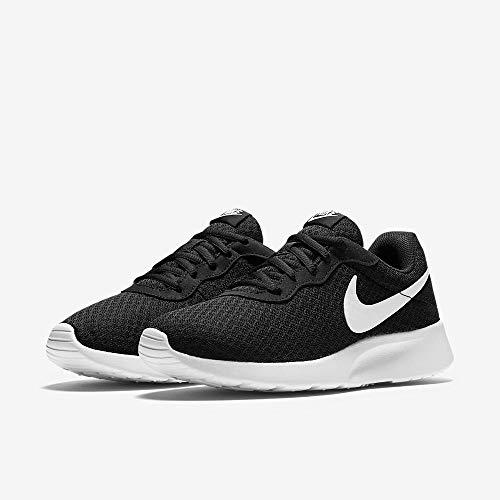 Nike Tanjun, Zapatillas de Running para Mujer, Negro (Black/White 011), 39 EU