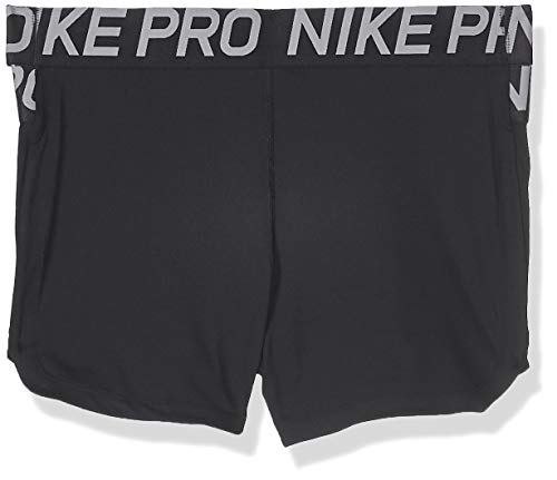 NIKE W NP Intertwist 2 3inch Short Pantalones Cortos de Deporte, Mujer, Black/(Thunder Grey), 2XL
