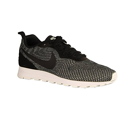 Nike Wmns Md Runner 2 Eng Mesh, Zapatillas de Running para Mujer, Negro (Black/Black/Igloo/White 003), 39 EU