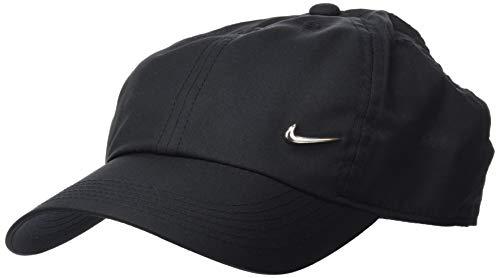 Nike Y Nk H86 Cap Metal Swoosh Hat, Unisex niños, Negro (Black/Metallic Silver), Talla única