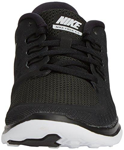 NikeFree 5.0 (Gs) - zapatillas de running Niños, Negro (black/white/dark grey/cool grey), 36.5