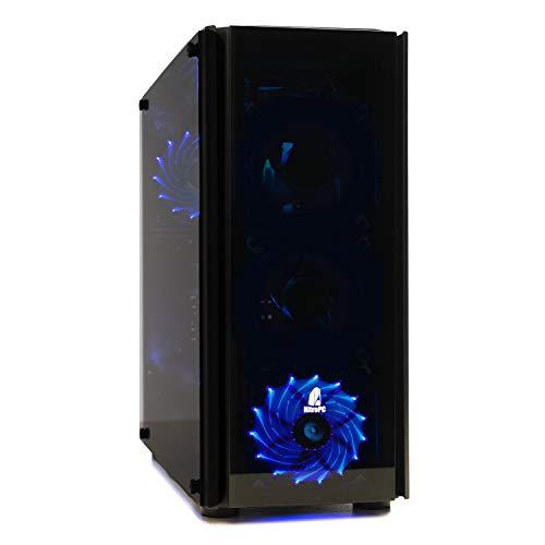 NITROPC - PC Gamer Nitro AMZ 2020 *Rebajas* (CPU Ryzen 3, 4N x 3,70 GHz, T. Gráfica 2 GB, SSD + 1 TB, Ram 16 GB) + WiFi de Regalo. pc Gamer, pc Gaming, Ordenador para Juegos (actualizado Junio 2020)