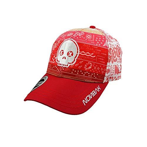 Nonbak Gorra Trucker Cap Gorra béisbol Transpirable Logo 3D. Muy Ligera 6 Paneles. Tejido Malla. EDICIÓN Limitada (Aloha Calavera)