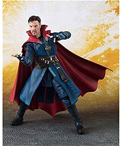 NYDZDM Avengers Juguetes Modelo -15cm Doctor Extraño Figuras de Acción - Cumpleaños Modelo de Juguete de Regalo de la muñeca de la Mano de Vengadores 3 Guerra Infinita Singular niños del PVC