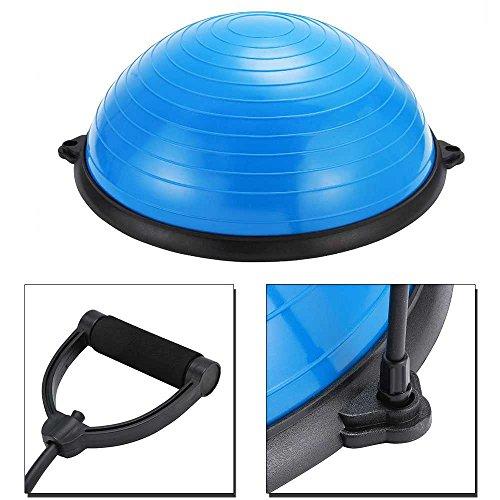 OcioDual Bos Up Balance Trainer Fitball Pelota de Gimnasia Bola de Equilibrio para Entranamiento Pilates Media Bola 60cm con