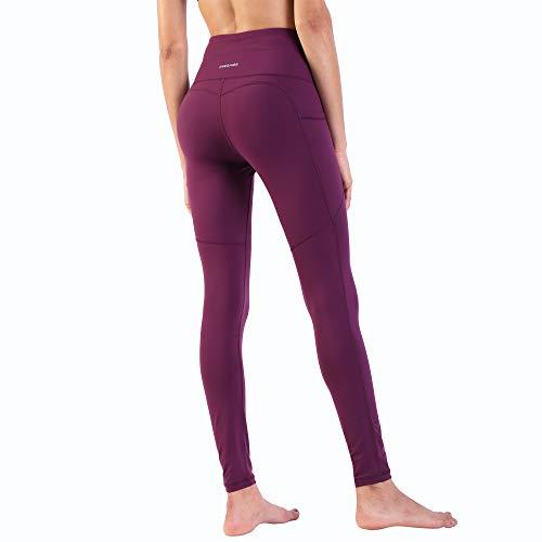 Ogeenier Pantalón Deportivo de Mujer Cintura Alta Malla Deportivas Leggings para Yoga Fitness Gimnasio Running Estiramiento Pilates
