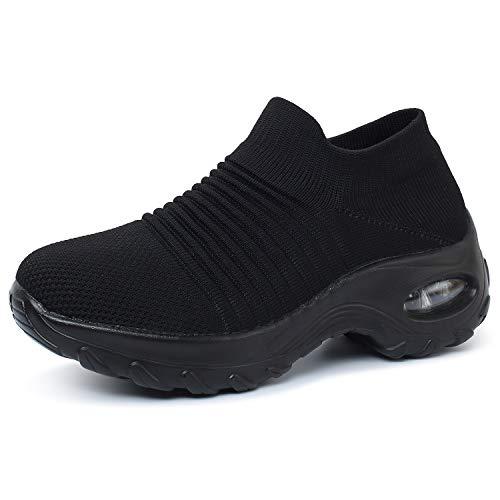 OUSIMEN Calzado Deportivo para Mujer Calzado Deportivo Calzado Deportivo para Aire Cojín de Aire Calzado Deportivo para Fitness Calzado Deportivo para Calle al Aire Libre Deportes-Muchos Colores