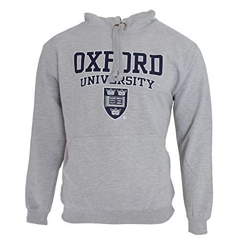 Oxford University Sudadera con Capucha diseño Hombre/Caballero - Deporte/Gimnasio/Running (Pequeña (S), Pecho 86-91cm) (Granate)