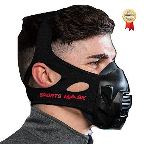 OXYGEN ADVANTAGE MÁSCARA DE Fitness Diseñado por el Experto en respiración Patrick McKeown   Entrenamiento en altitud al Nivel del mar   Máscara de Entrenamiento y Máscaras para Deportes