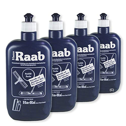 Pack ahorro: Ha-Ra Hans Raab concentrado cuidado completo 4 x 500 ml