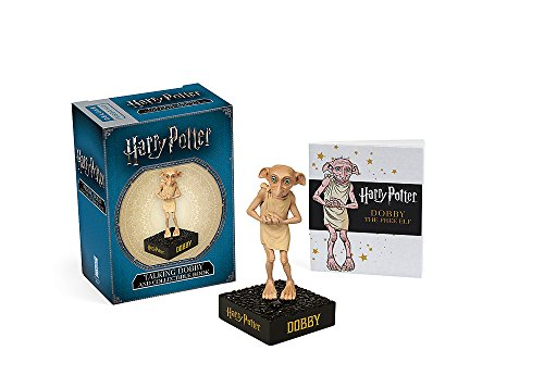 Pack Harry Potter: Talking Dobby + Book (Miniature Editions)