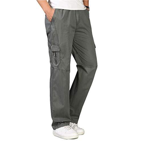 Pantalones para Hombre,Tallas Grandes Suelto Pantalones Casuales Moda Trabajo Pantalones Jogging Pants Fitness Pantalones Chandal Hombre Largos Pantalones Ropa de Hombre Pantalones de Trekking