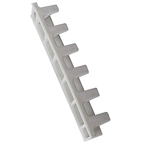 Pared Colgante Collar Percha,9 Piezas Joyería Pantalla Rack Adhesivo Pegar Pared Colgante Collar Percha Soporte de Almacenamiento de Joyas Exhibición de joyería Organizador para Collar Anillo y Arete