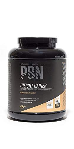 PBN - Bote de ganador de peso, 3 kg (sabor galleta)