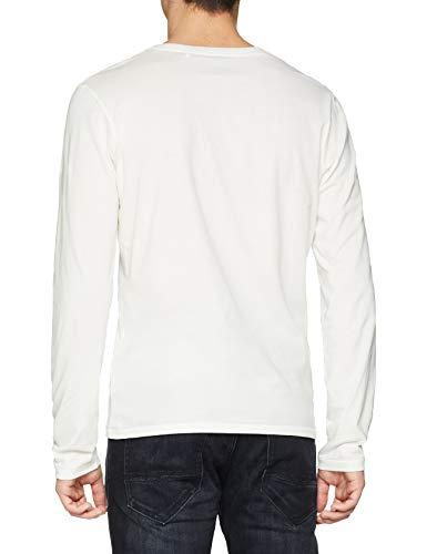 Pepe Jeans Joris Camiseta, (Off White 803), Large para Hombre