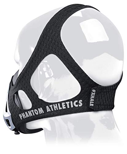 Phantom Athletics Training Mask - Aumente su Rendimiento en el Deporte - Plateado/Negro