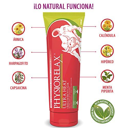 Physiorelax Ultra Heat Crema de Efecto Calor para Músculos y Ligamentos - 250 ml