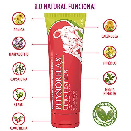 Physiorelax Ultra Heat Crema de Efecto Calor para Músculos y Ligamentos - 75 ml
