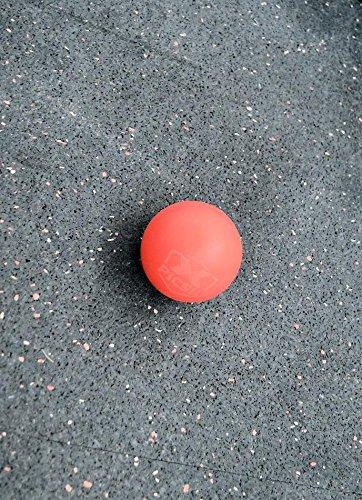 PicSil Lacrosse Ball Unisex para Hombre y Mujer Bola de Masaje para Masajear Puntos y Activar la Presión Balón o Pelota de Goma para Ejercicios de Rehabilitación o Fisioterapia Pilates Yoga